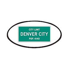 Denver City, Texas City Limits Patches
