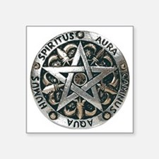 WICCAN Pentagram Sticker