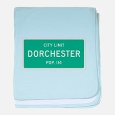 Dorchester, Texas City Limits baby blanket