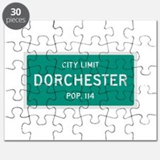 Dorchester, Texas City Limits Puzzle