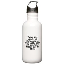 Plenty Of Obstacles Water Bottle