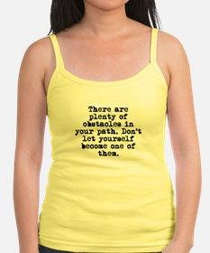 Plenty Of Obstacles Tank Top
