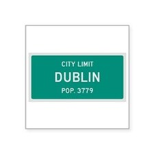 Dublin, Texas City Limits Sticker