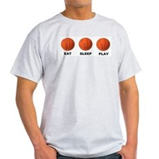 Basketball EAT SLEEP PLAY LITE T-Shirt