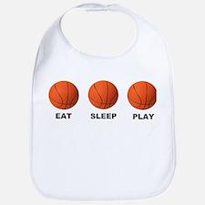 Basketball EAT SLEEP PLAY LITE Bib