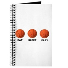 Basketball EAT SLEEP PLAY LITE Journal