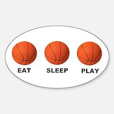Basketball EAT SLEEP PLAY LITE Decal