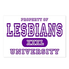 Lesbians University Postcards (Package of 8)