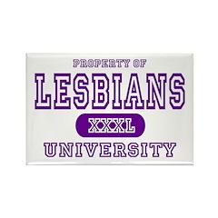 Lesbians University Rectangle Magnet