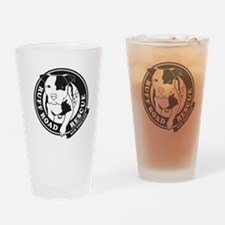 Ruff Road Rescue New England logo Drinking Glass