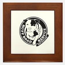 Ruff Road Rescue New England logo Framed Tile