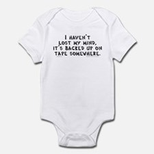 Lost Mind (tape) Infant Bodysuit