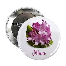 Nina: Purple Flower Button