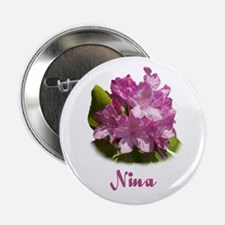 Nina: Purple Flower Button
