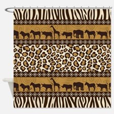 African Safari Shower Curtain