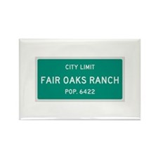 Fair Oaks Ranch, Texas City Limits Rectangle Magne