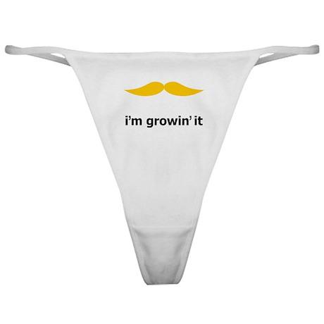 I'm Growin' It Classic Thong
