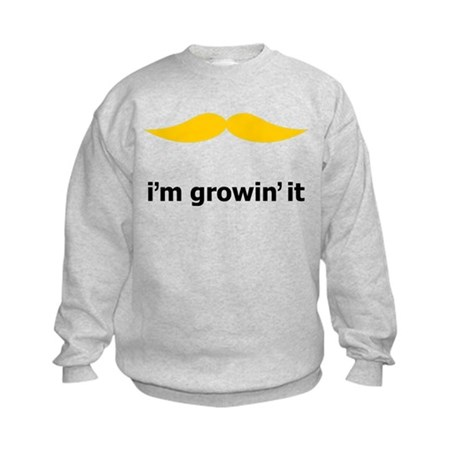 I'm Growin' It Kids Sweatshirt