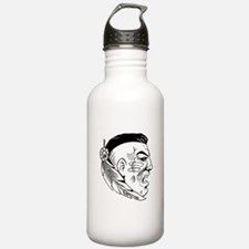 Native American Warrior Water Bottle