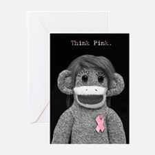 Think Pink Emma Greeting Cards (Pk of 10)