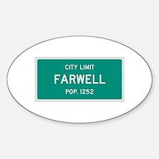 Farwell, Texas City Limits Decal