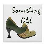 Something Old Tile Coaster