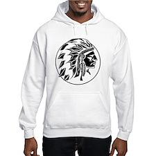 Native American Headdress Hoodie