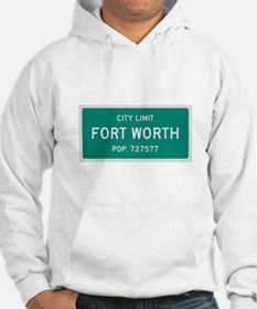 Fort Worth, Texas City Limits Hoodie