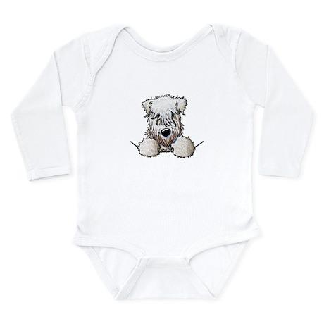 SC Wheaten Pocket Long Sleeve Infant Bodysuit