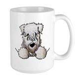 Wheaten terrier Large Mugs (15 oz)