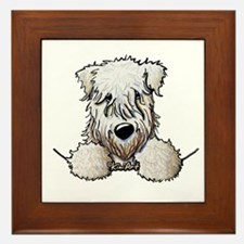 SC Wheaten Pocket Framed Tile