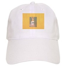 Yellow Gold Hersheys Rabbit. Baseball Baseball Cap