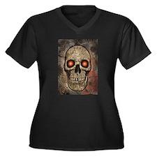 SKULL_001 Plus Size T-Shirt