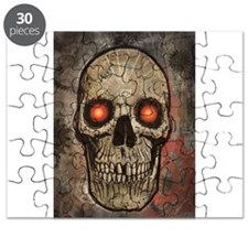 PSYCHEDELIC SKULL Puzzle