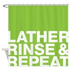 lather Shower Curtain