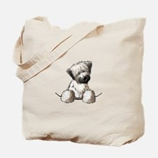 Pocket Wheaten Tote Bag