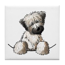 Pocket Wheaten Tile Coaster