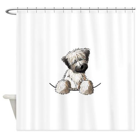 Pocket Wheaten Shower Curtain