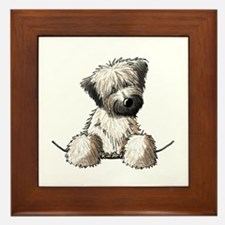 Pocket Wheaten Framed Tile