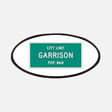 Garrison, Texas City Limits Patches