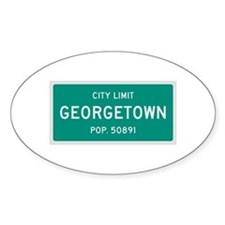 Georgetown, Texas City Limits Decal