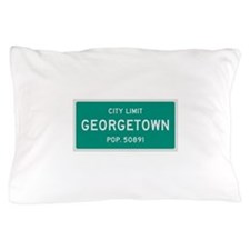 Georgetown, Texas City Limits Pillow Case