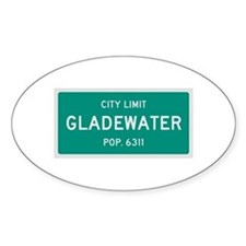 Gladewater, Texas City Limits Decal