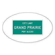 Grand Prairie, Texas City Limits Bumper Stickers