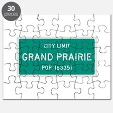 Grand Prairie, Texas City Limits Puzzle