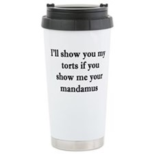 Unique Law student funny Travel Mug