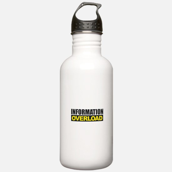 Information Overload Water Bottle