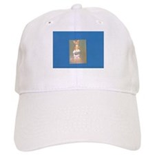 Blue Gold Hershey's Rabbit. Baseball Cap