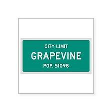 Grapevine, Texas City Limits Sticker