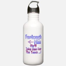 Furlough Him Water Bottle
